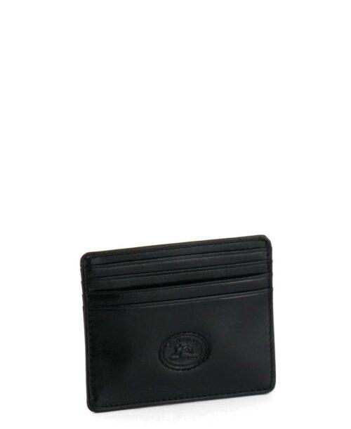 ארנק קטן לגבר Tony Perotti כרטיסים חיצוני שחור