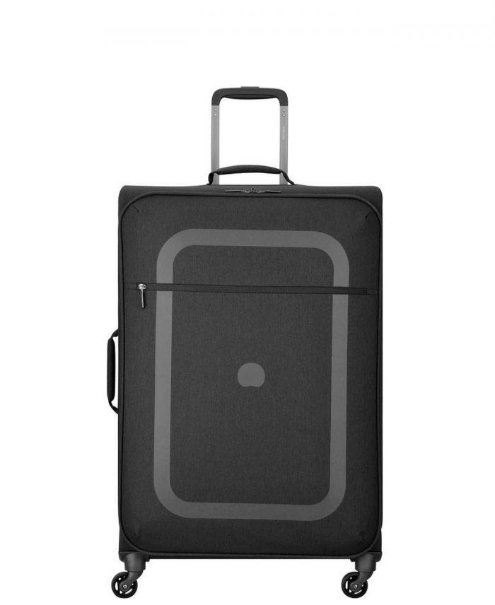 מזוודה הכי קלה בעולם 4 גלגלים איכותית דלסי שחור גדולהמזוודה הכי קלה בעולם 4 גלגלים איכותית דלסי שחור גדולה