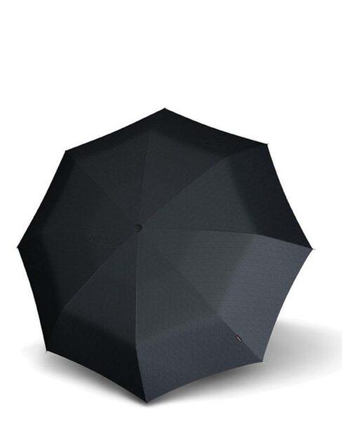 מטריות קנירפס מטרייה XL פתיחה סגירה אוטו' אפור מעוינים.