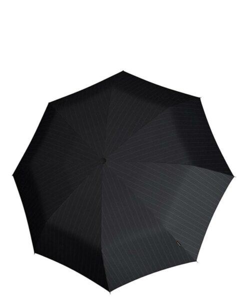 מטריות קנירפס מטרייה XL פתיחה סגירה אוטו' אפור פסים.