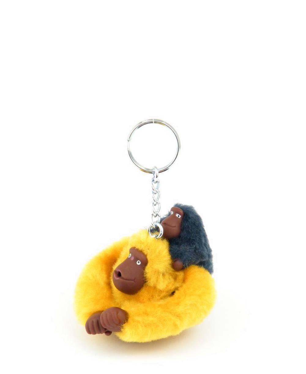 מחזיק מפתחות קוף קיפלינג חרדל וגור כחול
