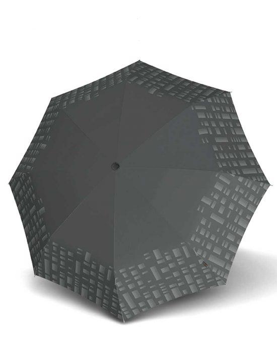 מטריית קנירפס בינונית M אוטומטית מחזיר אור אפור