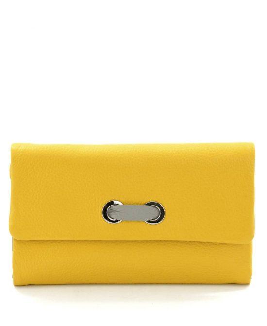 ארנק איוונקה גדול צהוב