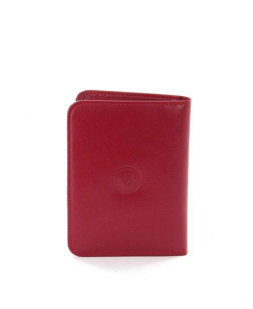 כיסוי דרכון מעוצב עור אדום
