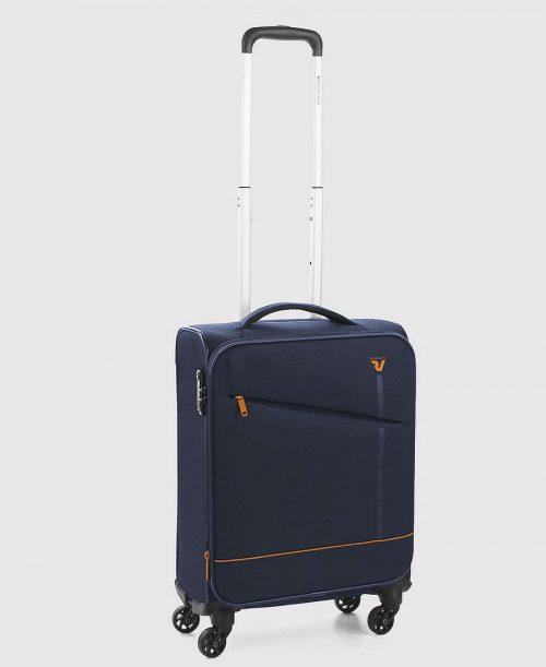 מזוודה עליה למטוס רונקטו ג'אז כחול
