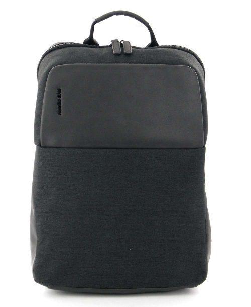 תיק גב למחשב נייד כיס אפור כהה