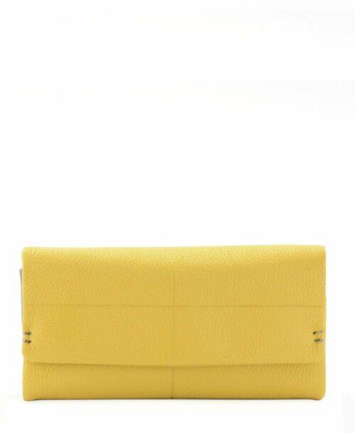 ארנקים לנשים נטע שדה קקדו גדול צהוב