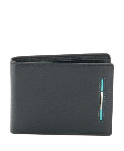 ארנק גדול לגבר Tony Perotti פס כחול שחור