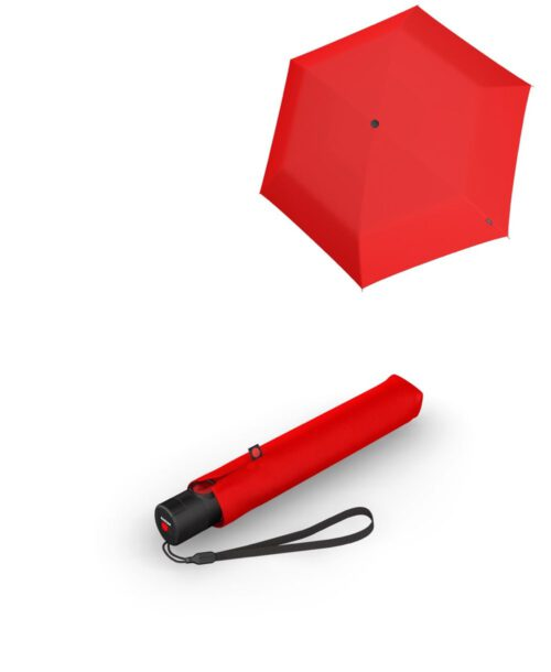 מטריה קנירפס סופר קלה איכותית בינונית אוטומטית אדום
