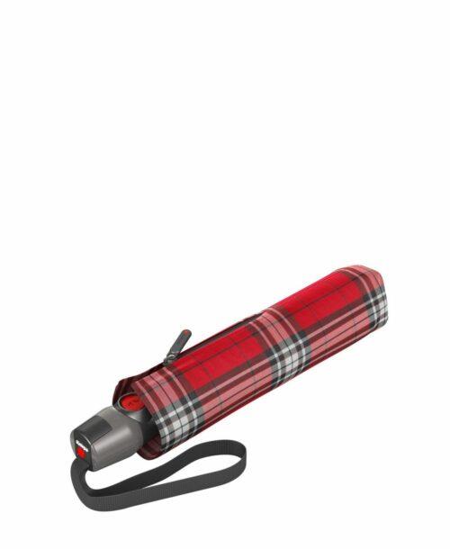 מטריית קנירפס בינונית M פתיחה וסגירה אוטומטית סקוטי אדום
