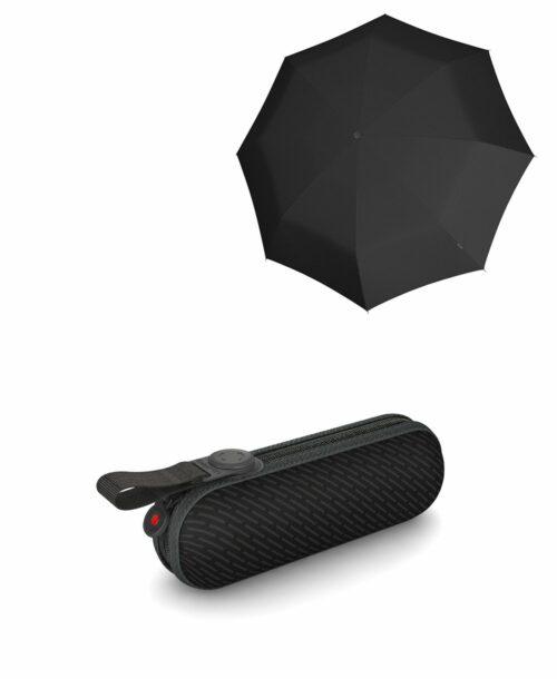 מטרייה קומפקטית איכותית קנירפס קפסולה שחור פסים