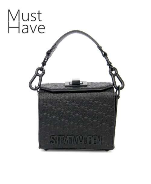 תיק צד לנשים סטיב מאדן בוקס שחור STEVE MADDEN BAGS
