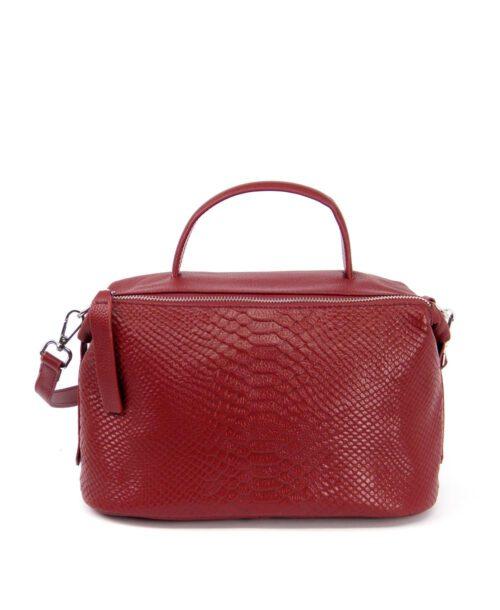 תיק יד קרוקו אדום, תיקים מעור לנשים, תיקי נשים מעוצבים. תיק אדום לאישה.