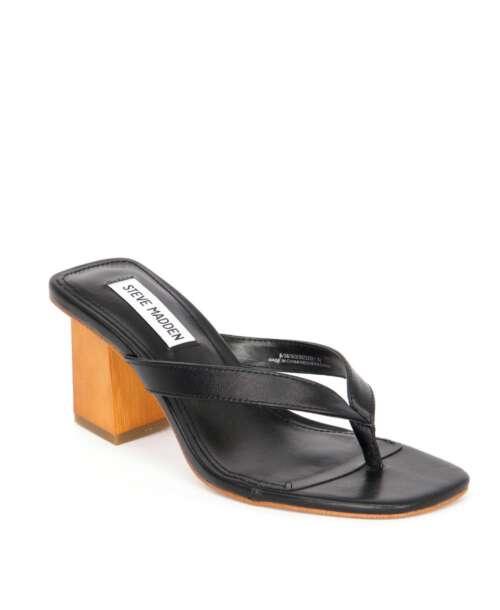 כפכפי עקב סטיב מאדן היסלי שחור, נעלי עקב.