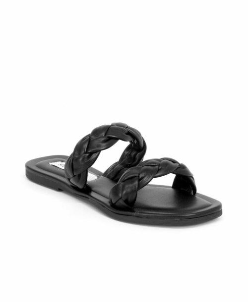 סטיב מאדן כפכפים לנשים אלונה שחור, סטיב מאדן נעליים.