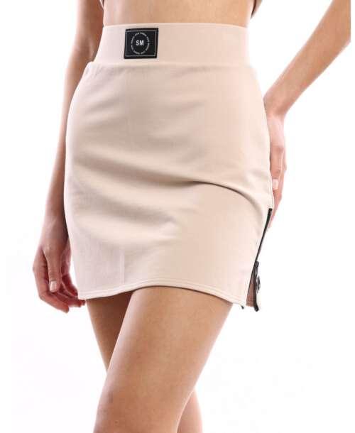 סטיב מאדן חצאית מיני ספורטיבית קאמל