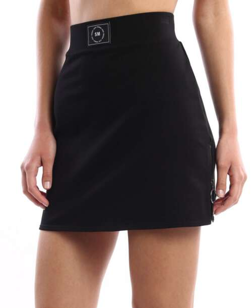 סטיב מאדן חצאית מיני ספורטיבית שחורה