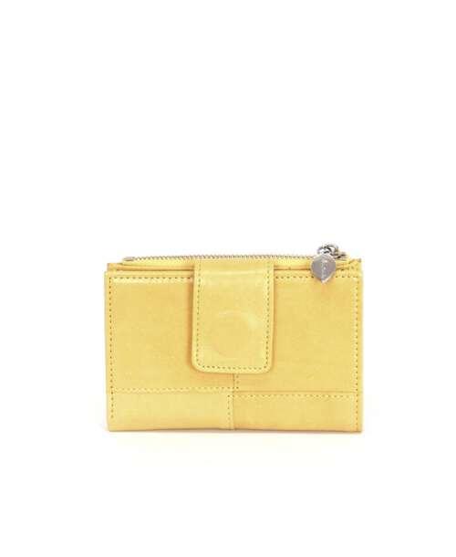 ארנק קטן לנשים נטע שדה שסק צהוב, ארנקים קטנים לנשים.